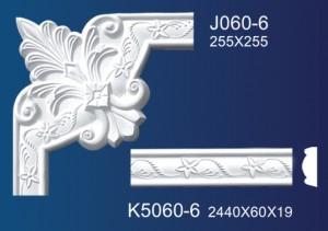 Manufactur standard Gypsum Line Pattern - Flower Angle Line K5060 – Jiupin Decoration