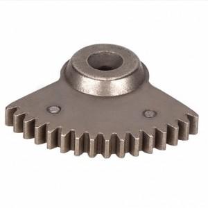 工厂锻造齿轮的领先制造商烧结定制扇形齿轮-精石