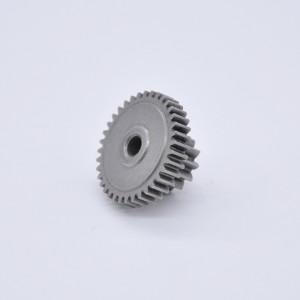 OEM粉末冶金烧结双齿轮,用于电动工具/齿轮箱/电机