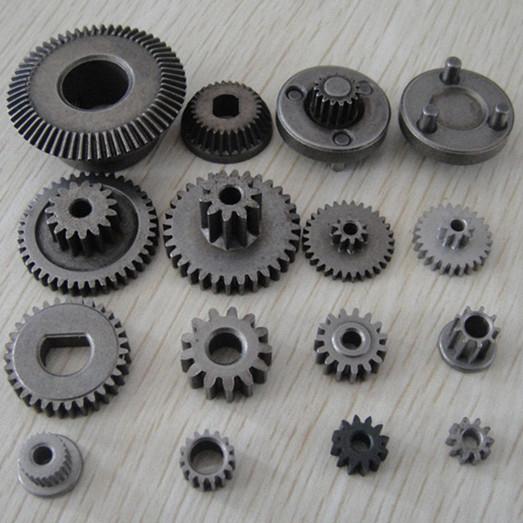 粉末冶金零件手机用钢制直齿轮零件1