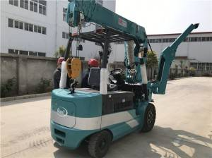Lithium battery wheeled crane — KBE3.0