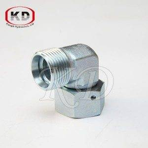 2D9-W Metric Thread Bite veids Tube Fitting