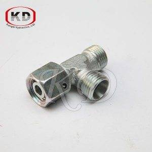 CD-W rosca métrica mordida Tube Type Fitting