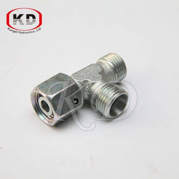 CD-W Metric Thread Bite Type Tube Fitting