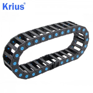 China Wholesale Fully Covered Cable Drag Chain Manufacturers - Moving Cable Chain Tank Cable Carrier – Krius