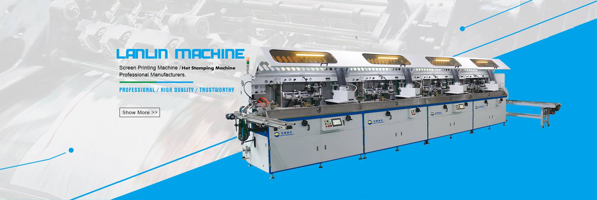 Multicolour screen printing machine