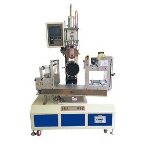 Heat Transfer Machine For The Decoration Of Conical Part