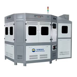 LP-F412 Fully Automatic CNC Controlled 4 Color Universal Screen Printing Machine For Decoration Of Cylindrical And Oval Glass Containers