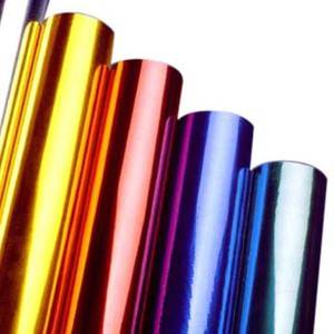 Hot zọ Foil maka Plastics Glass dara Products