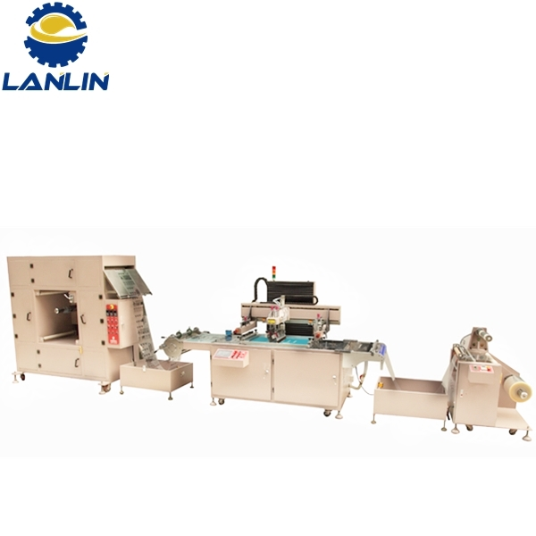 LP-CNC4070 High-Precision CNC Automatic Roll To Roll Paper Sticker Foil Screen Printing Machine Featured Image