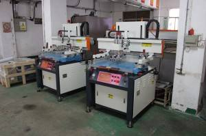 Motor driven Flat Bed Screen Printing Machines
