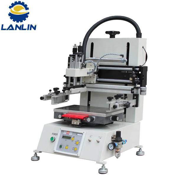 LP -2030T Manual Semi Auto Tabletop Flat Screen Printing Machine for Promotion Product Featured Image