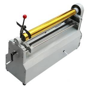 Corsu Hot Fustelle Foil Aluminium Foil Roll Slitter Cutting Machine