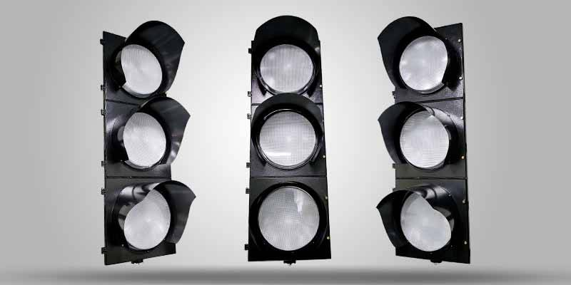 high flux traffic light