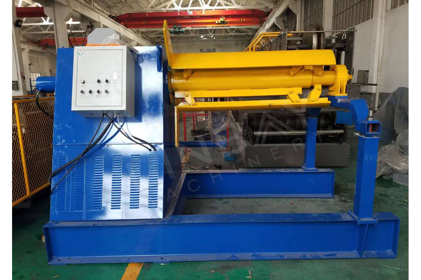 Paraguay-High Automatic Hydraulic Decoiler