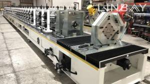Warehouse Shelf Upright Rack Roll Forming Machine