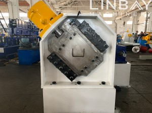 LINBAY-Export Guardrail Post Machine to Saudi Arabia