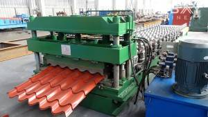 Roofing Tile roll membentuk Mesin