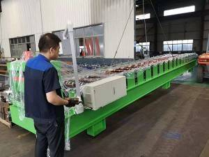 Colombia-Corrugated roll membentuk Mesin