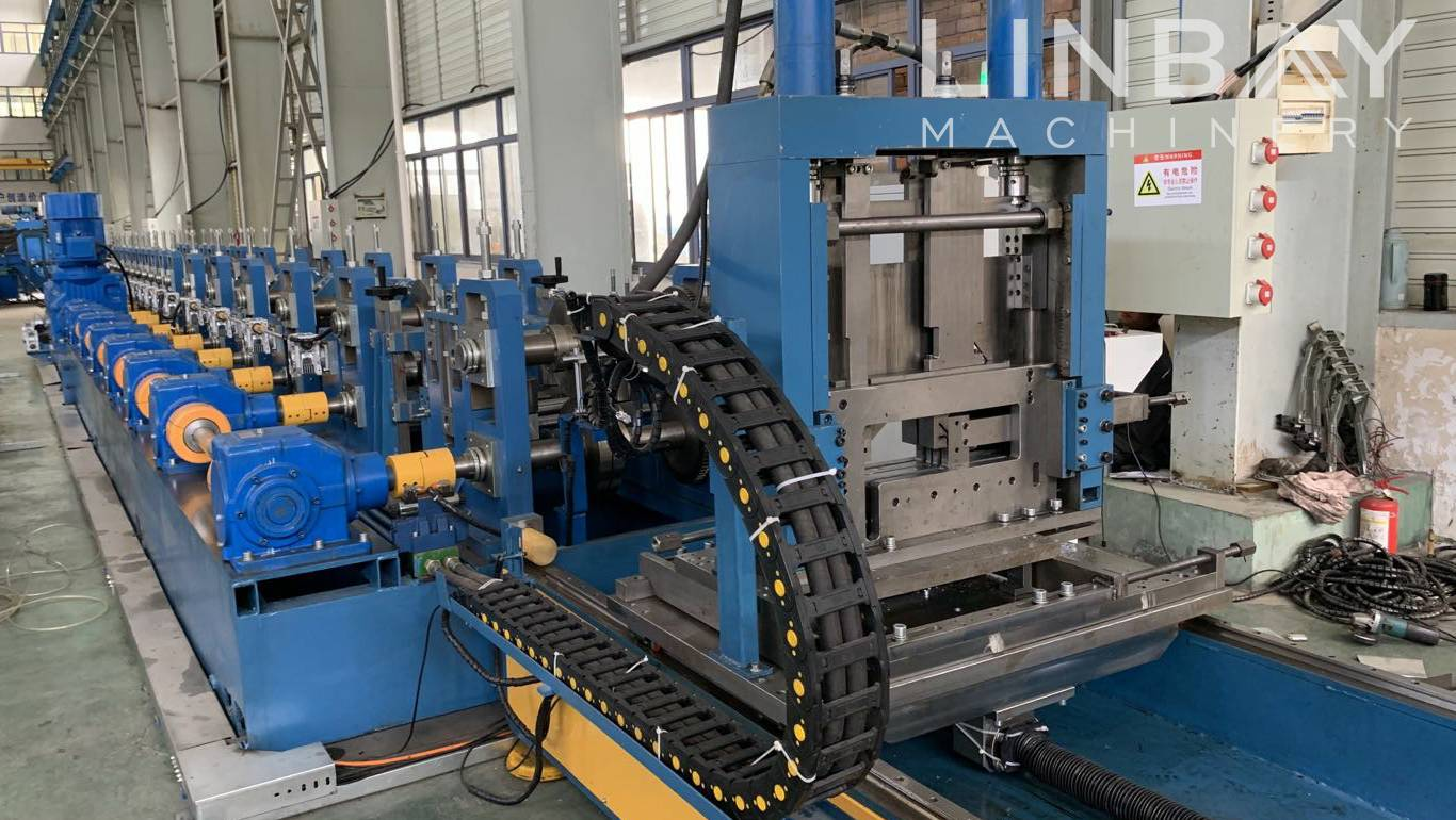 Cz purling roll forming machine