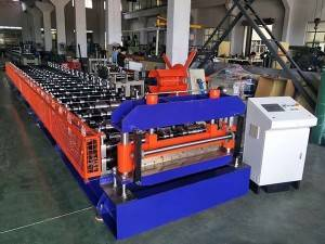 Arabia-corrugated roll pagtukod machine ug nagkurbang machine
