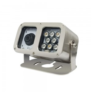 Industrial Underwater Camera with Adjustable Illumination