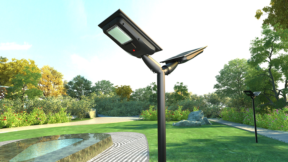 Liper Solar LED Light Project