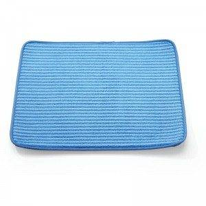 Blue Wholesale Dish Drying Mat LS-8125