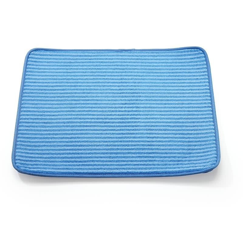 Blue Wholesale Dish Drying Mat LS-8125 Featured Image