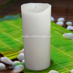 Ivory Moving Wick luminaire votive mshumaa kuweka