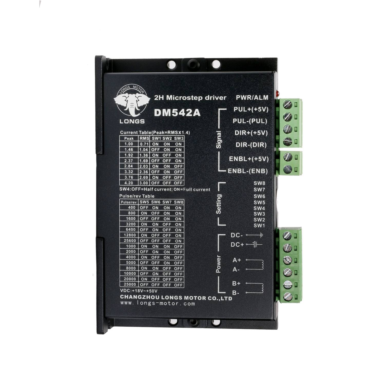 motor stepper darawal-DM542A Featured Image