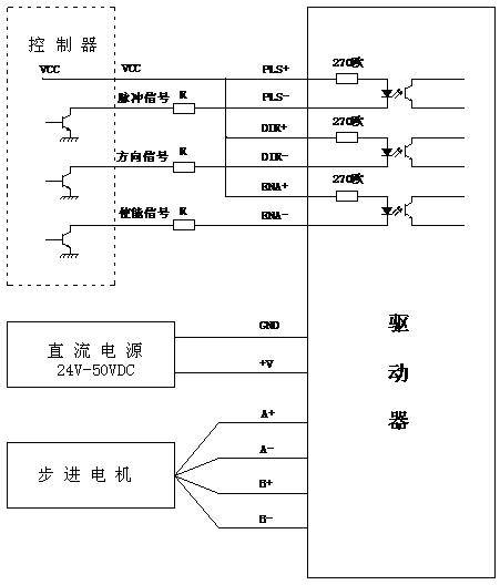 stepper motor driver dm542a china changzhou longs motor Stepper Motor Schematic