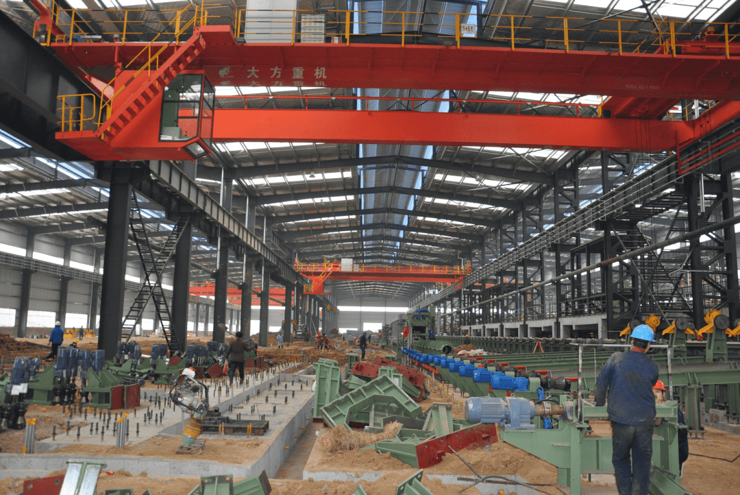 Closing to an end – Construction for Continuous Rolling Production line for φ114 Seamless Pipe