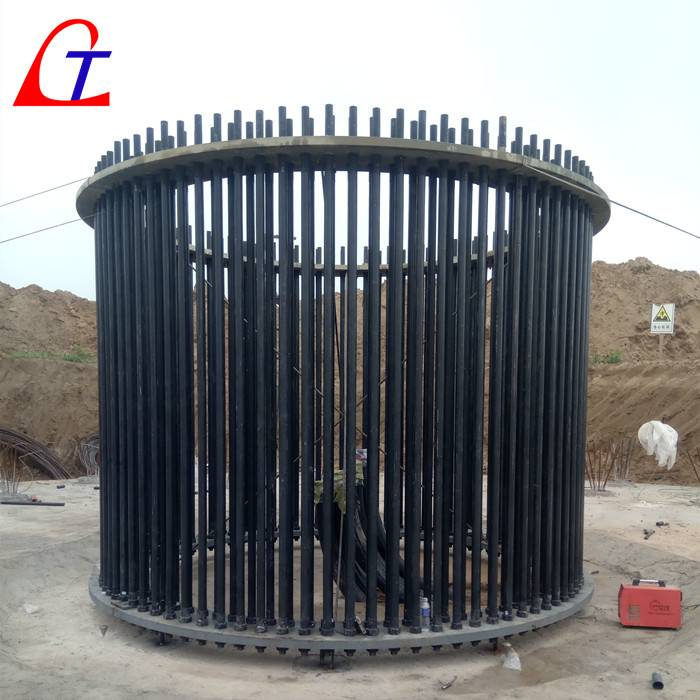 Peoperty Class Gr. 10.9 Anchor Bolts Assemblies,Solid Anchor Stud, Anchor cage, Wind tower fasteners LT  on-shore wind turbine foundation base, prestress, precompression, pre-tensioning, post-tensioning, China manufacturer supplier for sell Featured Image