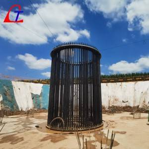 Renewable Energy Wind Power Foundation anchor bolt cage