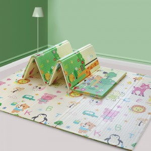 2 sides usage XPE material baby play mat