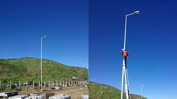 180W led street light project