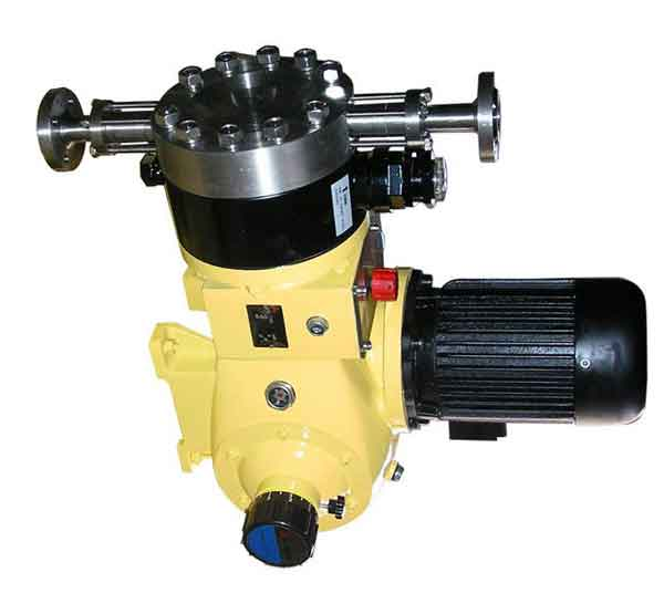 The structure and type of metering pump