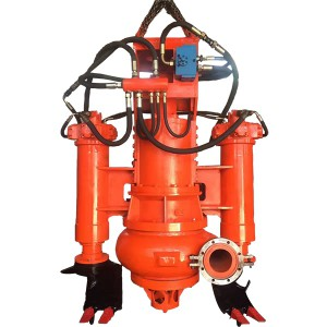 SS haeteroliki Submersible Slurry di-pump