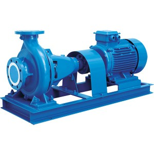 ISA DIN Stand End Suction Pump