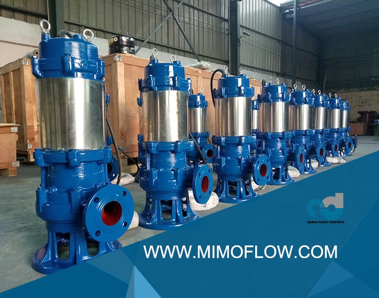 30sets WQ Submersible Sewage Pump Exported to Our America Friend!