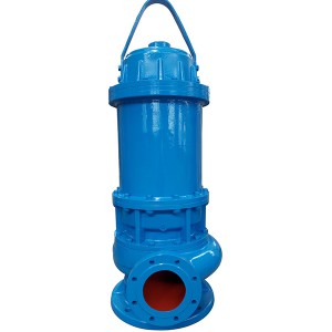 WQ Submersible Sewage پمپ لړۍ