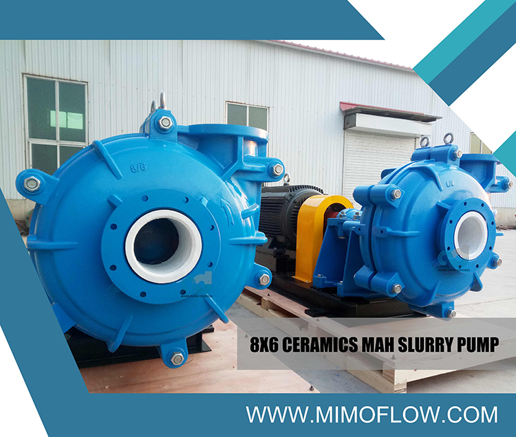 8X6 MAH Slurry Pump Exported to Our Malaysia Friend!