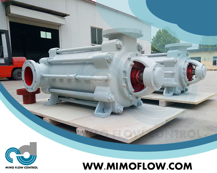 Good News!  Multistage Pump Finished and Exported to Malaysia for Desalination