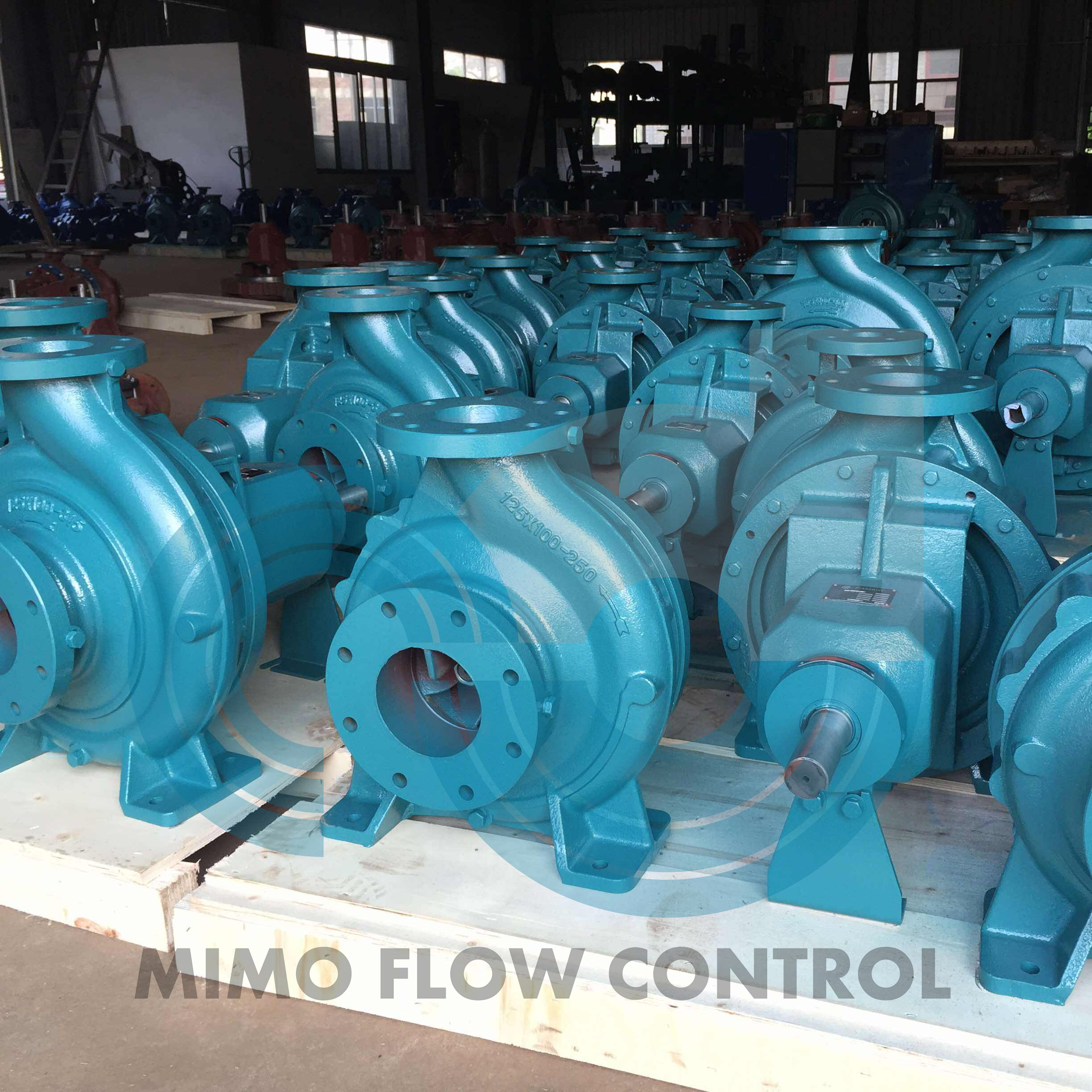 ISO STANDARD END SUCTION PUMP FITTED WITH OIL LUBRICATED BEARINGS