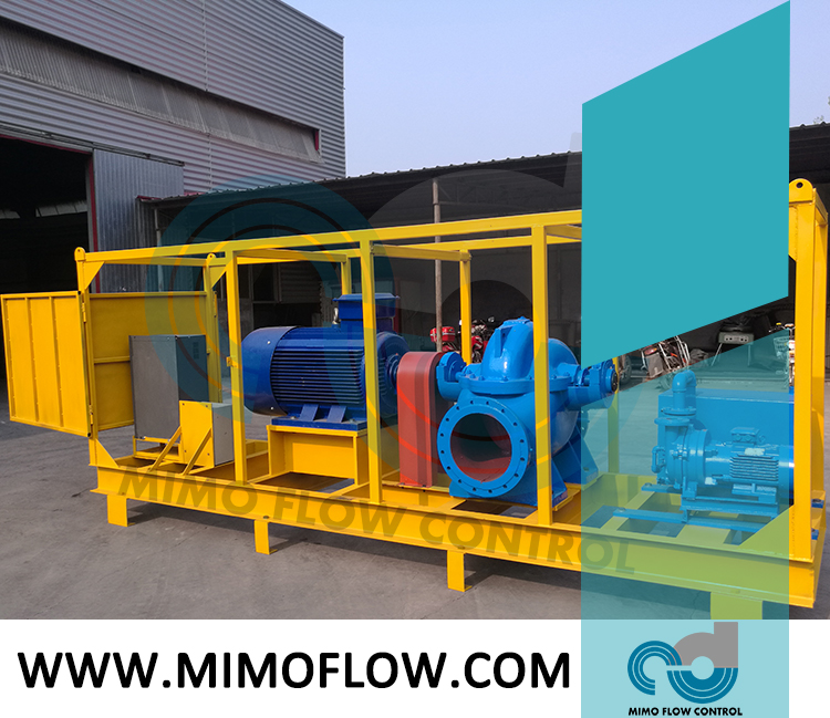 Good News!  Double Suction Pumps are Finished and Exported to Bahrain!