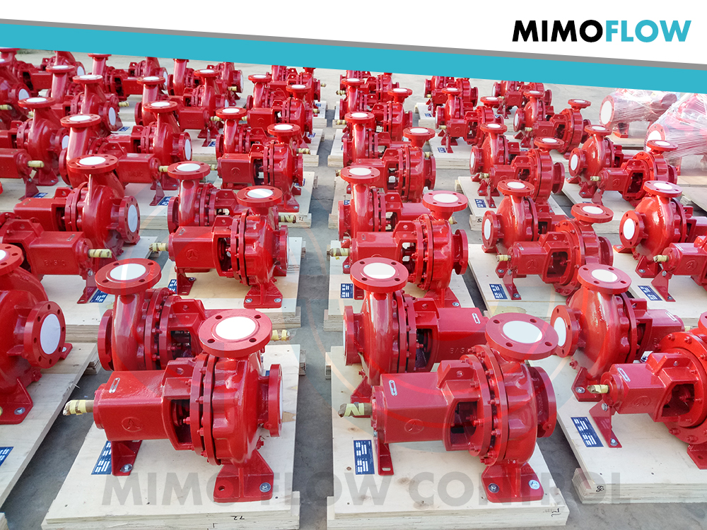 Good News! 100 sets Water Fire Pumps Finished and Exported to Vietnam