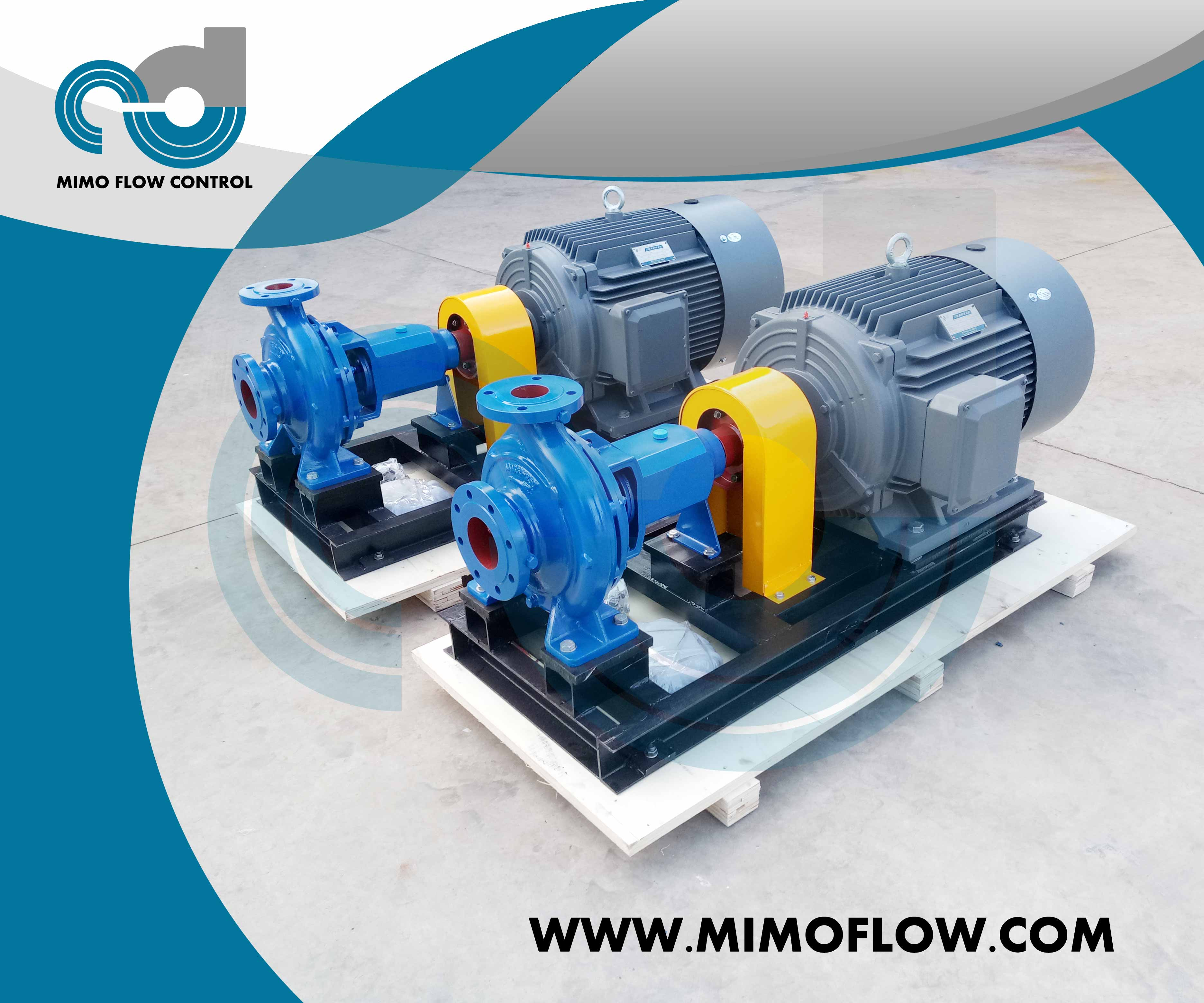 Good News! ISO100x65-250 End Suction Centrifugal Water Pumps Finished and Exported to United States