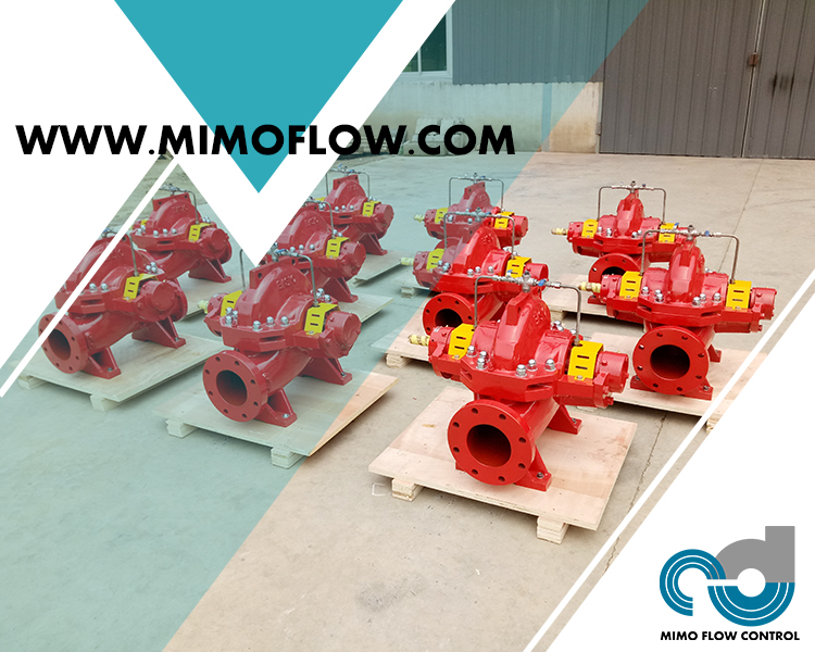 Good News!  Double Suction Pumps Finished and Exported to Vietnam for Fire Fighting System