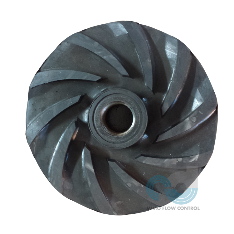 Rubber Impeller for MAHR Horizontal Slurry Pump